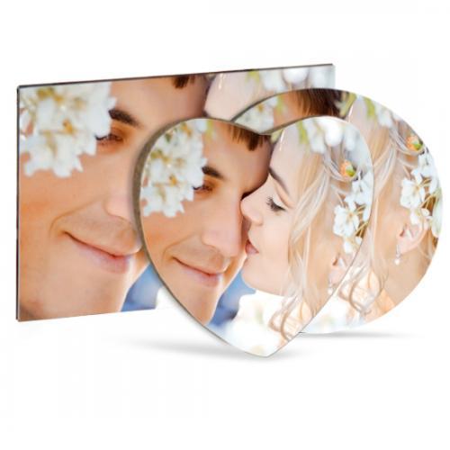 Magneti in legno da personalizzare con foto