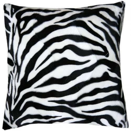 Cuscino in pelliccia Zebra da personalizzare con foto