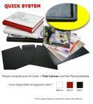 Scopri prezzi e misure di Copertina Quick Cover con foto stampata su Tela Canvas Personalizzabile